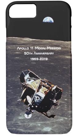 Apollo 11 souvenir smartphone case